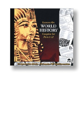 Lessons on World History Parts 1-12 Complete Set on CD SPECIAL OFFER